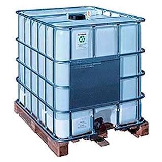Contenedor plastico grg sobre palet for Bidones de agua de 1000 litros