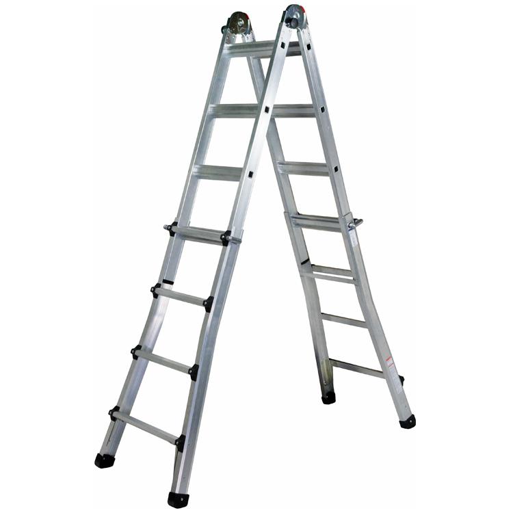 Escalera telesc pica for Precio escalera aluminio